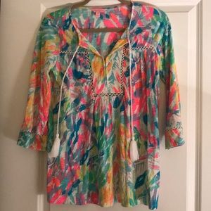 Lilly Pulitzer Tilda Tunic in Sparkling Sand